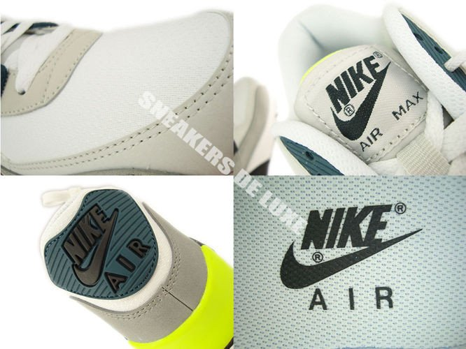reputable site f0795 a6685 ... 537384-105 Nike Air Max 90 Essential White Black Prune-Light Base Grey