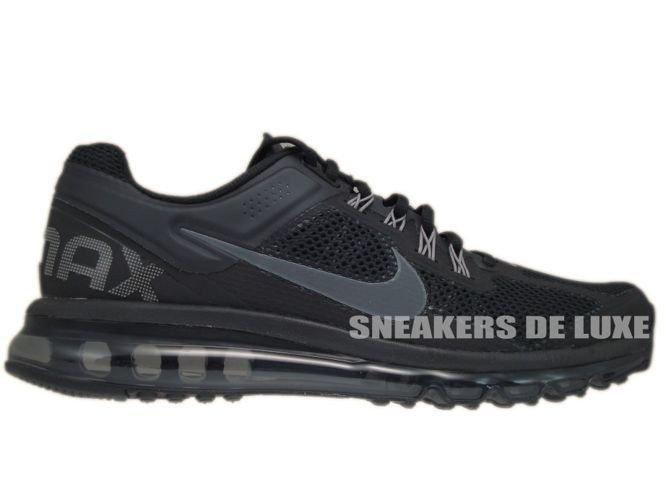 9daa76ac3edc 554886-001 Nike Air Max+ 2013 Black Dark Grey 554886-001 Nike   mens