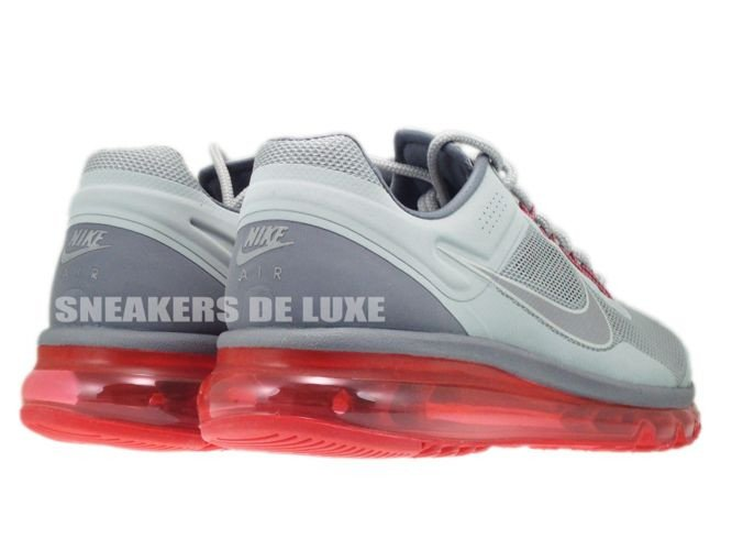 size 40 9ae59 af553 ... 555616-006 Nike Air Max+ 2013 EXT Metallic Silver Hyper Red Lightweight  ...