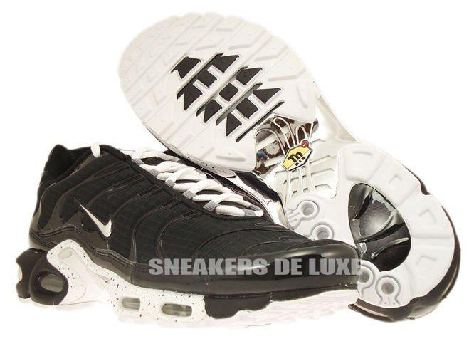 604133 091 Nike Air Max Plus TN 1 Black Chrome Black