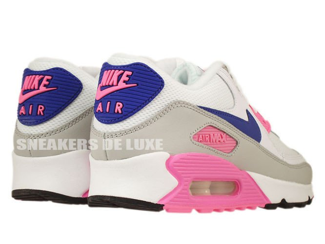 ... 616730-104 Nike Air Max 90 Essential White Concord-Zen Grey-Pink ... 674b3655be7b