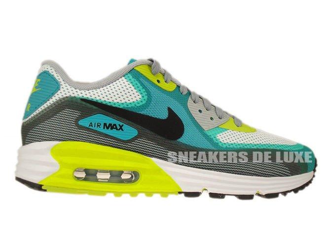 636229-103 Nike Air Max Lunar 90 C3.0 White Black-Turbo Green 636229 ... 203be4732