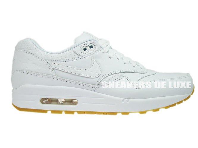 9409c26039 705007-111 Nike Air Max 1 Leather PA White/White-Gum Light Brown ...