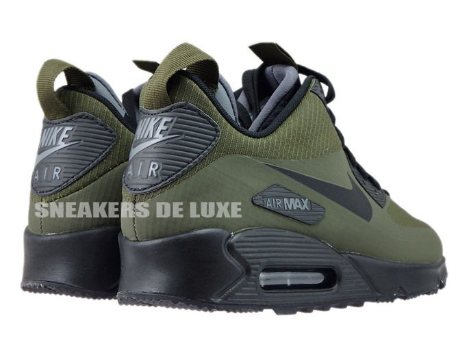 innovative design fd081 f1e33 ... 806808-300 Nike Air Max 90 Mid Winter Dark Loden Black-Dark Grey