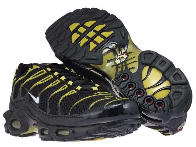 Nike Air Max Plus TN Black Vivid Sulfur (852630 020)