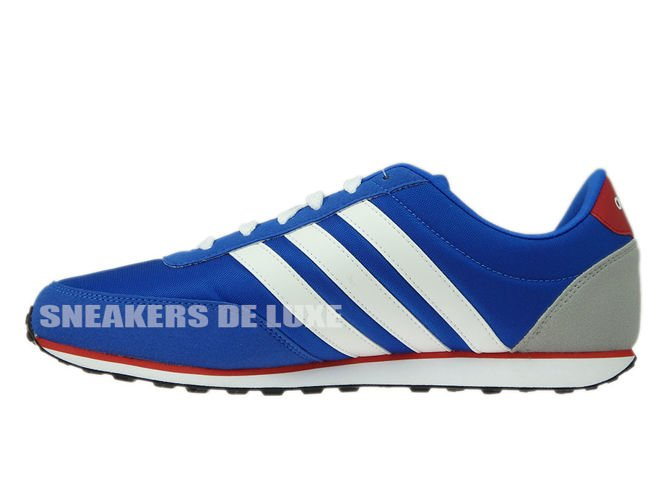 AW5051 adidas neo V Racer Blue /Footwear White/Power Red AW5051 ...