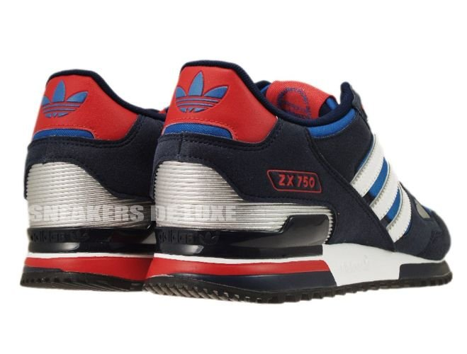 inexpensive adidas originals zx 750 blue white red 1a270 937c5