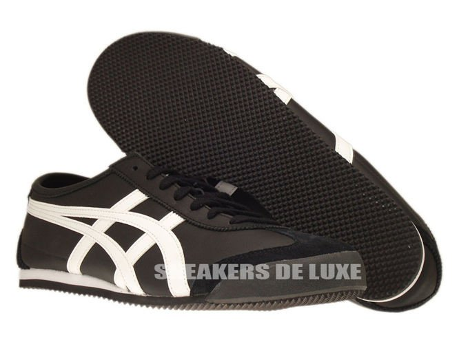 new product 3877e 3236c Asics Onitsuka Tiger Mexico 66 HL202 9001 Black/White HL202 ...