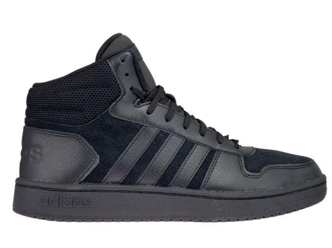 Adidas Hoops Mid 2.0 Mid Top Leather Sneaker