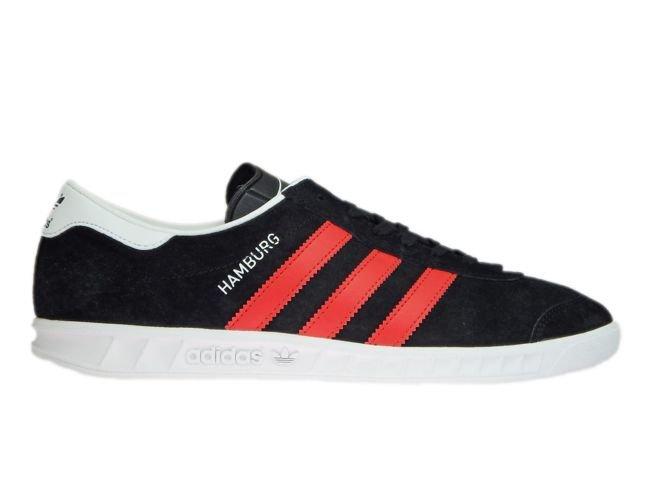 BB5300 adidas Hamburg Core Black/Red/Ftwr White BB5300 adidas ...