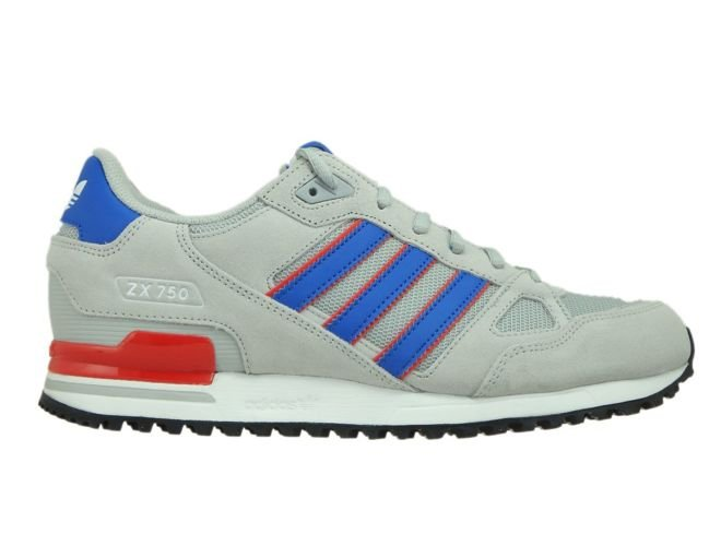 brand new 64253 c9153 BY9271 adidas ZX 750 Grey Two/Blue/Core Red BY9271 adidas ...