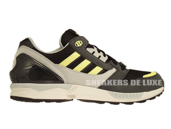 new product 3ad05 80cd2 D65462 adidas ZX 8000 Black   Citrine   Pearl Grey ...