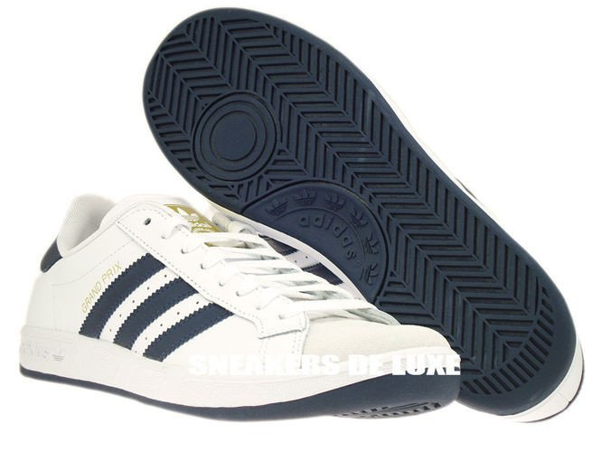 huge selection of a584c 0c404 ... G64079 adidas Grand Prix White  New Navy  Metallic Gold ...