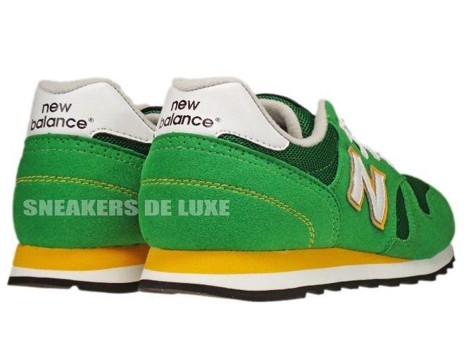 New Balance M373GRW 373 Green/Yellow M373GRW New Balance \ mens  