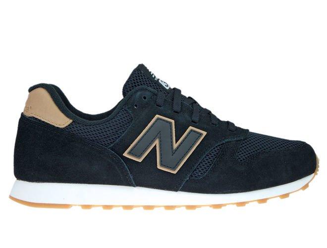 New Balance ML373BSS Black with Veg Tan ML373BSS New Balance \ mens |