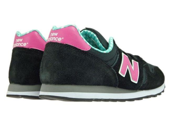 New Balance WL373WPG Black / Pink / Green WL373WPG New Balance ...