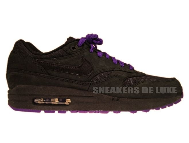 c4afea9c77 Nike Air Max 1 Air Attack Pack Black Club Purple 308866-007 308866 ...
