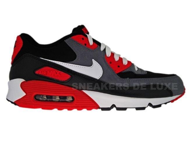 Nike Air Max 90 Premium Mens BlackWhite Shoes UK