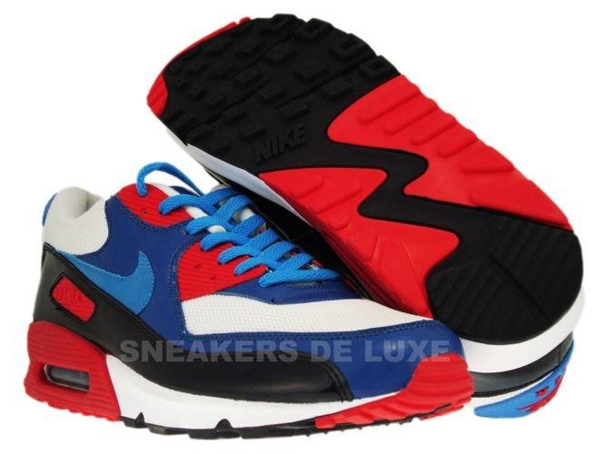 Nike Air Max 90 ID WhiteLaser Blue Atom Red 352641 141