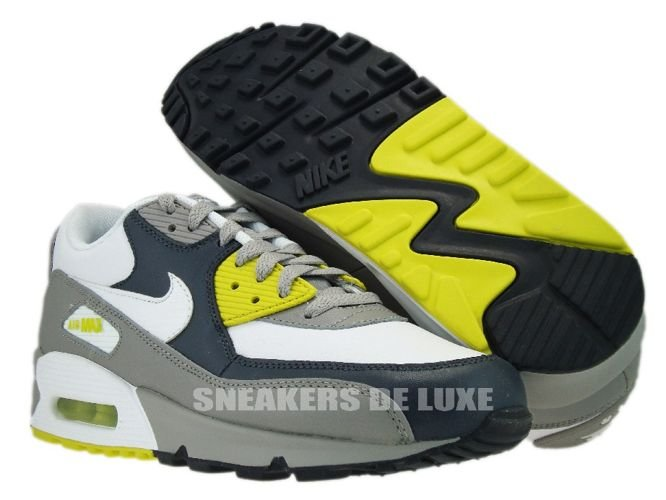 8a37521a0bce Nike Air Max 90 Medium Grey High Voltage 309299-037 309299-037 Nike ...