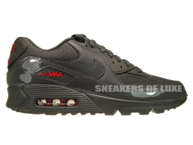 Nike Air Max 90 Midnight Fog University Red 325018-058 Nike   mens  a48785817463
