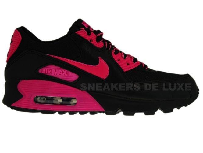 9bc04c94ed Nike Air Max 90 Premium LE Black/Vivid Pink 375572-061 375572-061 ...