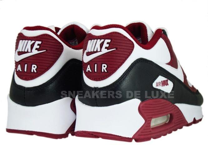 Nike Air Max 90 Premium Team Red White Black Shoes
