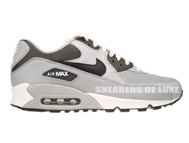 premium selection d8522 7ea96 Nike Air Max 90 Wolf GreyBlackMidnight Fog 325018-055 ...