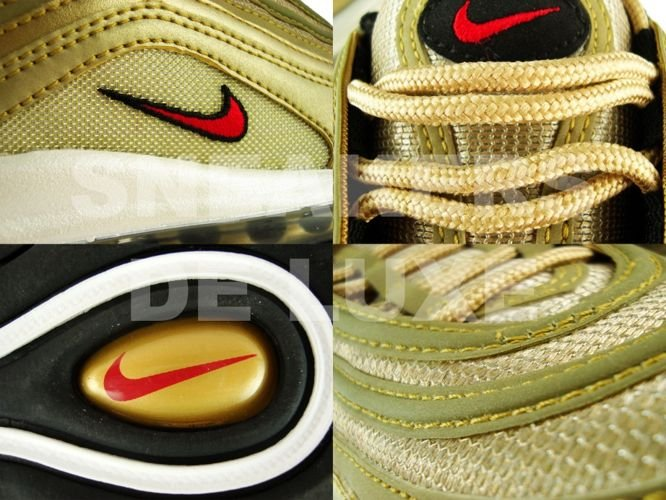 new arrival da9bd 8649c ... Nike Air Max 97 Metallic Gold Varsity Red White Black 312641-700