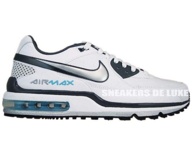 uk availability 9e5c2 108e8 Nike Air Max LTD II White Metallic Silver-Dark Grey-Chlorine 316391- ...