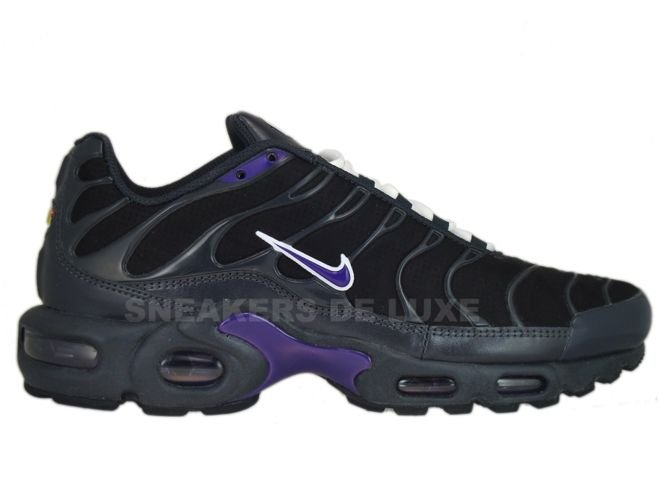 official photos 52915 19314 Nike Air Max Plus TN 1 Anthracite Club Purple-Black-White ...