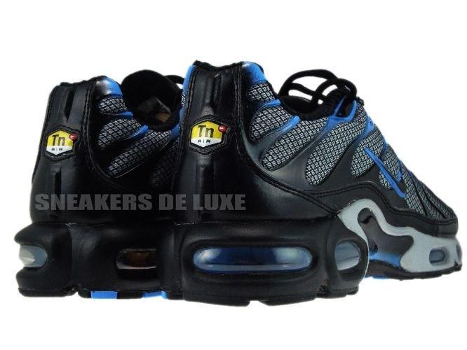 Nike Air Max Plus Tn 1 Wolf Grey Black Blue Glow 604133 408 Nike Mens