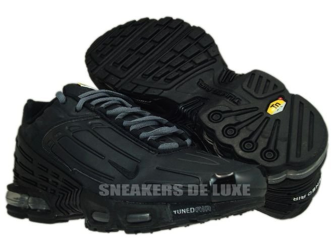 267c4f20ac6 Nike Air Max Plus TN III 3 Black Black 604201-005 604201-005 Nike ...