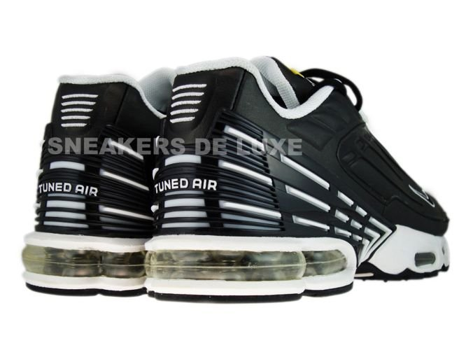 pretty nice a7450 84843 Nike Air Max Plus TN III 3 Black/Black-White 604201-002 ...