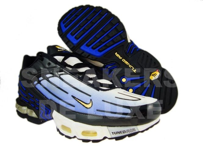 new arrival 4f815 de216 Nike Air Max Plus TN III 3 Hyper-Blue/Black Yellow 604201 ...