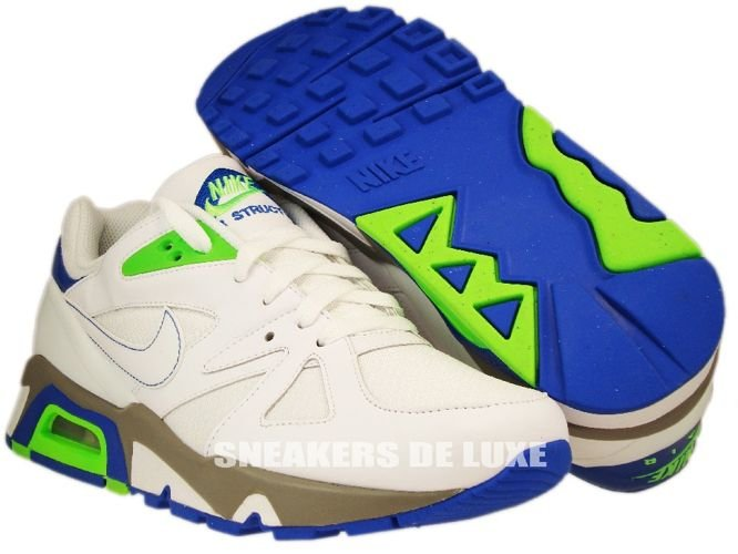 0342e0ca7f38 ... Nike Air Structure 91 Triax White Electric Green Blue Sapphire  318088-111 ...