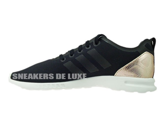 adidas ZX FLUX ADV SMOOTH W (Core Black Copper Metallic Core White)