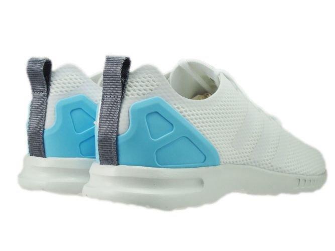 defe20da506f9 ... S78965 adidas ZX Flux ADV Smooth Core White Core White Blush Blue. adidas  Originals