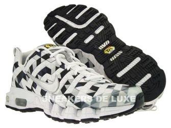 363887-101 Nike Tuned X 10 Metallic Silver/Anthracite White