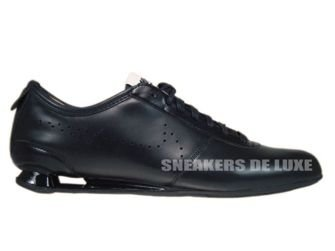 376508-007 Nike Shox Rivalry 2 Black/Black-White