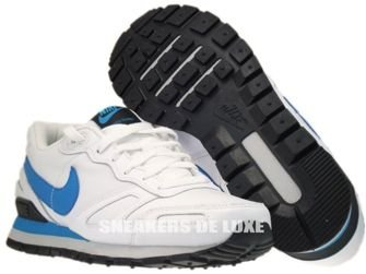 429628-107 Nike Air Waffle Trainer White/Neptun Blue-Neutral Grey-Black