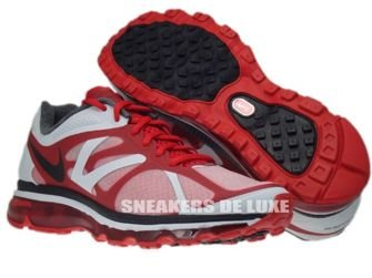487982-600 Nike Air Max+ 2012 University Red/Black Metallic Silver