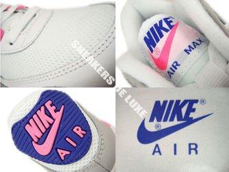 616730 104 Nike Air Max 90 Essential WhiteConcord Zen Grey