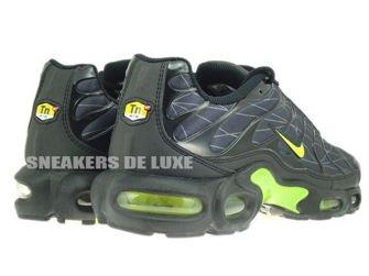 647315-070 Nike Air Max Plus TXT TN 1 Black/Volt-Dark Grey 647315 ...