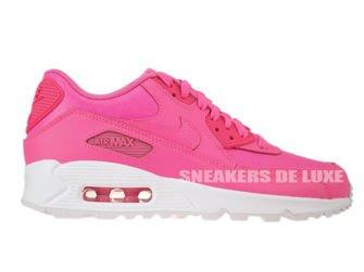 724825-600 Nike Air Max 90 Pink Pow/Pink Pow-White