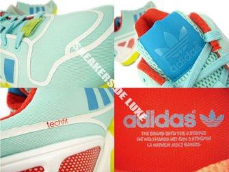 AF6304 adidas ZX Flux clear aqua / bold aqua / ftwr white