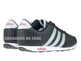 AW5055 adidas neo V Racer Core Black/Metallic Silver/Power Red