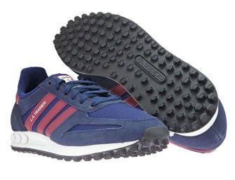 B37831 adidas LA Trainer Collegiate Navy/Collegiate Burgundy/Dark Blue