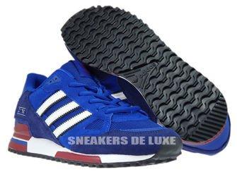 BB1220 adidas ZX 750 Collegiate Royal/Footwear White/Dark Blue