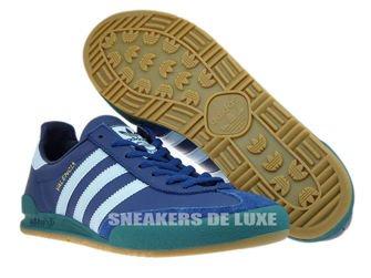 "BB5274 adidas Jeans City ""Valencia"" Mystery Blue/Easy Blue/Mystery Green"